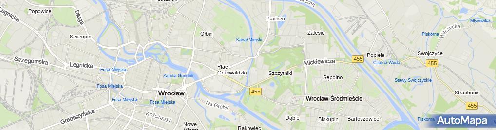 Zdjęcie satelitarne Przeds.Handlowo-Usługowe Sadowski Ryszard