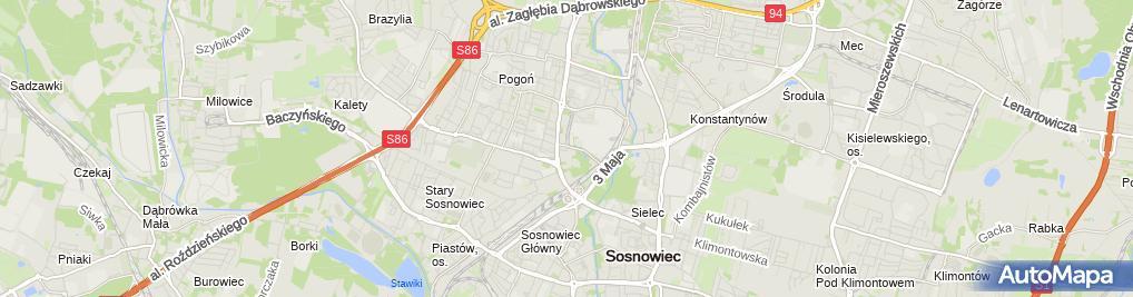 Zdjęcie satelitarne Przedsiębiorstwo Esklar S C Jaśko Jacek Krępa Jan