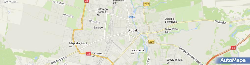 Zdjęcie satelitarne Przedsiębiorstwo Gospodarki Mieszkaniowej