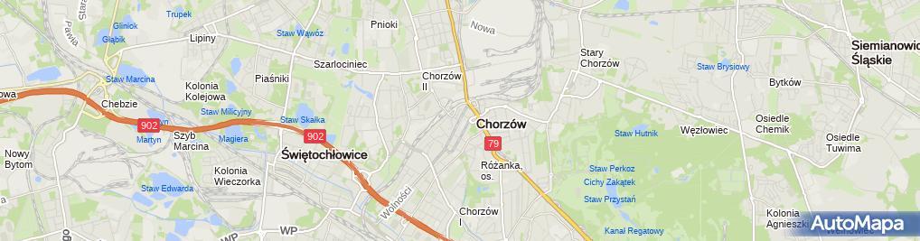 Zdjęcie satelitarne Przedsiębiorstwo Handlowe Grażyna Kocieł Tomasz Zalewski