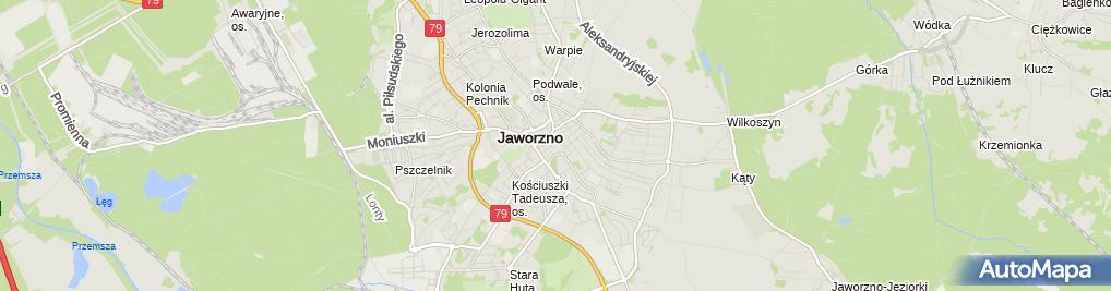 Zdjęcie satelitarne Przedsiębiorstwo Handlowe Panda Szafrański Tadeusz Szafrańska Anna