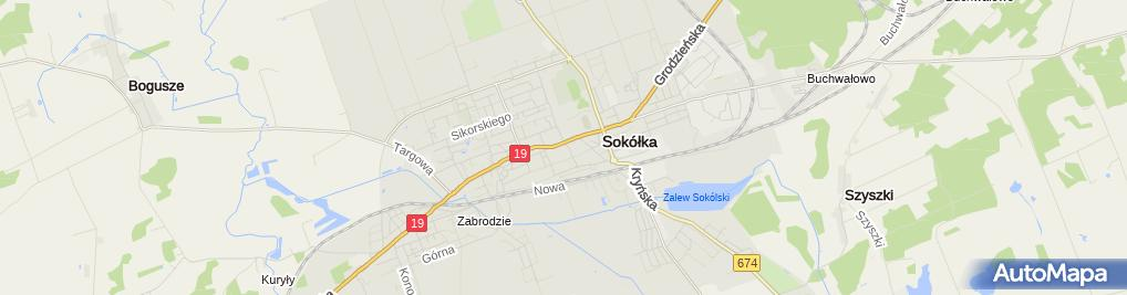 Zdjęcie satelitarne Przedsiębiorstwo Handlowo Produkcyjne Sandra Bis w Januszkiewicz A Trzeciak M Bondaryk