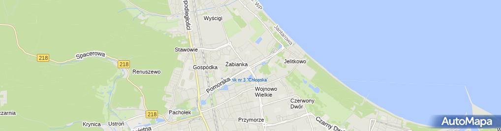 Zdjęcie satelitarne Przedsiębiorstwo Handlowo Usługowe Altom