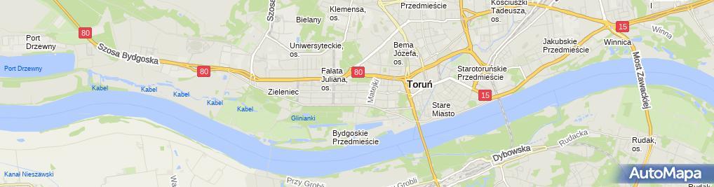 Zdjęcie satelitarne Przedsiębiorstwo Handlowo Usługowe Bomir
