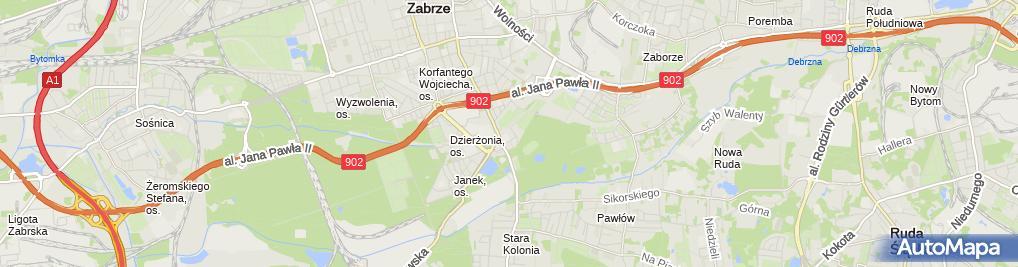 Zdjęcie satelitarne Przedsiębiorstwo Handlowo-Usługowe , Janek'''' Janusz Figas