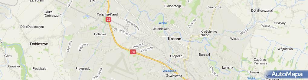 Zdjęcie satelitarne Przedsiębiorstwo Handlowo Usługowe MIX Iwona i Andrzej Turowscy