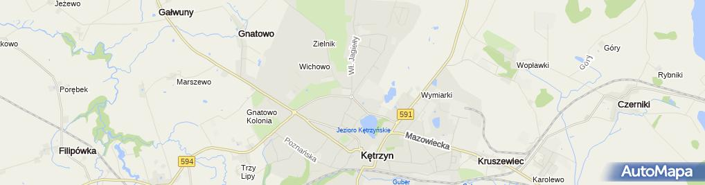 Zdjęcie satelitarne Przedsiębiorstwo Handlowo Usługowe PHU Dobre Ziółko