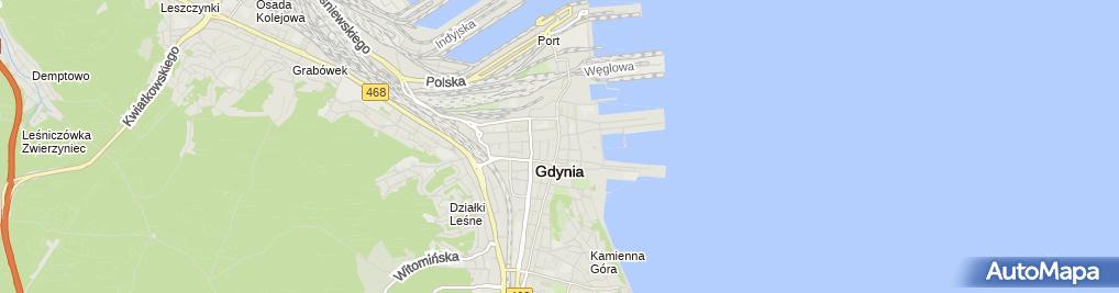 Zdjęcie satelitarne Przedsiebiorstwo Handlowo Usługowe Zibas