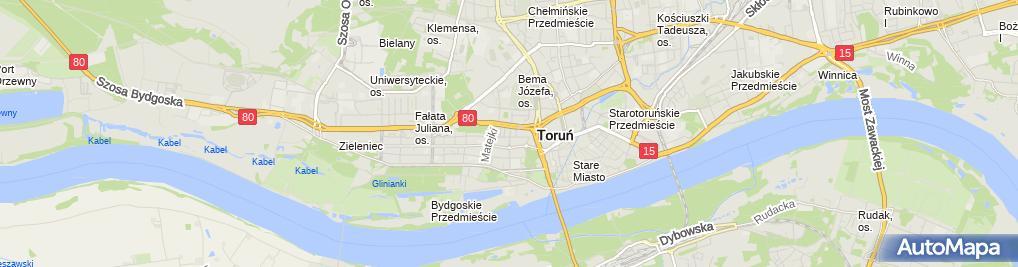 Zdjęcie satelitarne Przedsiębiorstwo Handlu Zagranicznego Imrex Tomczyk Maria Durlik Włodzimierz