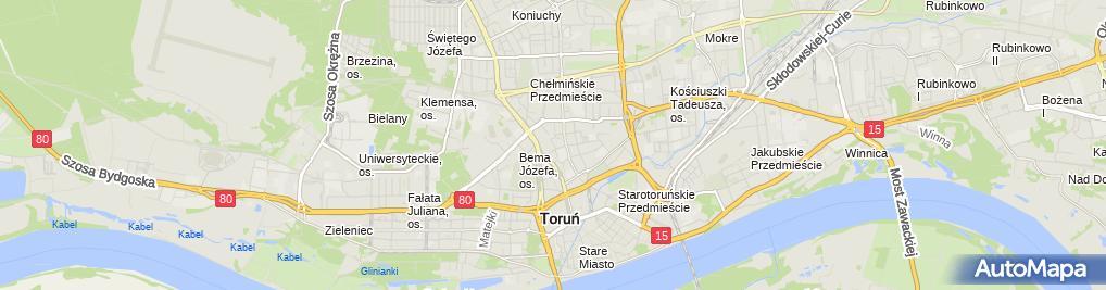 Zdjęcie satelitarne Przedsiębiorstwo Prod Handl Usł Anda Wrzesińska Welter Danuta Anusiak A