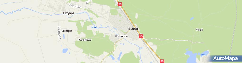 Zdjęcie satelitarne Przedsiębiorstwo Produkcyjne Kausa Andrzej Kausa