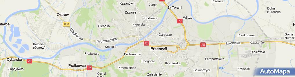 Zdjęcie satelitarne Przedsiębiorstwo Produkcyjno Handlowe Pertex