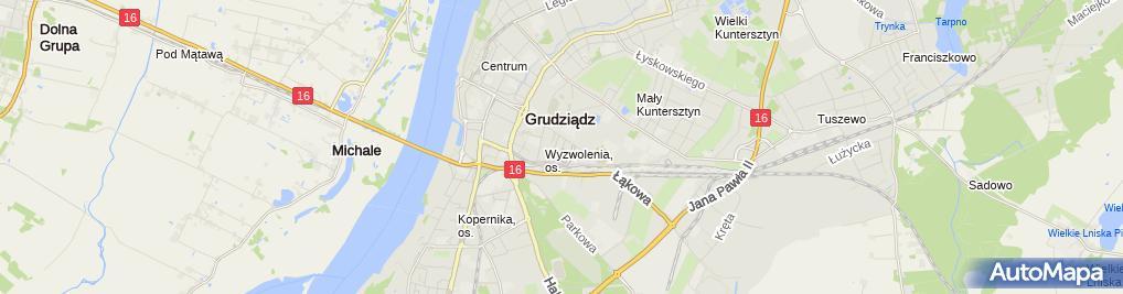 Zdjęcie satelitarne Przedsiębiorstwo Produkcyjno Handlowo Usługowe Agro - Inox Grzegorz Knopp