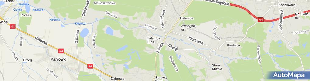 Zdjęcie satelitarne Przedsiębiorstwo Produkcyjno Handlowo Usługowe Gallina