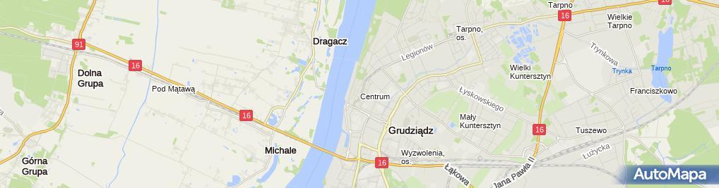 Zdjęcie satelitarne Przedsiębiorstwo Produkcyjno Handlowo Usługowe Probud Leszek Groszewski i Paweł Janicki