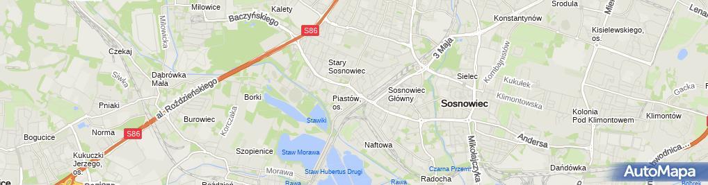 Zdjęcie satelitarne Przedsiębiorstwo Produkcyjno Usługowo Handlowe Piaf Dariusz Nobis