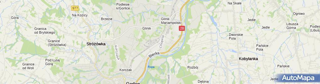 Zdjęcie satelitarne Przedsiębiorstwo Produkcyjno Usługowo Handlowe Rimpol