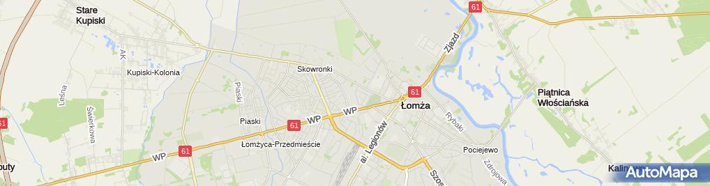 Zdjęcie satelitarne Przedsiębiorstwo Telbud Sławomir Nowosielski