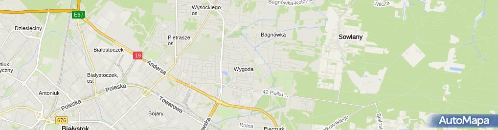 Zdjęcie satelitarne Przedsiębiorstwo Transportowe Transpol