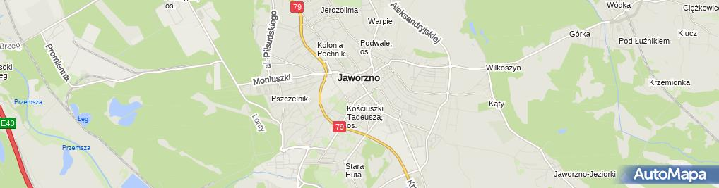 Zdjęcie satelitarne Przedsiębiorstwo Transportowo Sprzętowe Drotrans