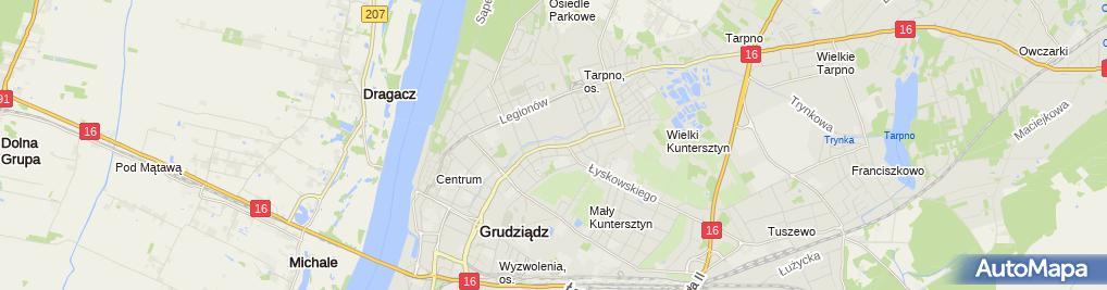 Zdjęcie satelitarne Przedsiębiorstwo Usługowo Handlowe Emir