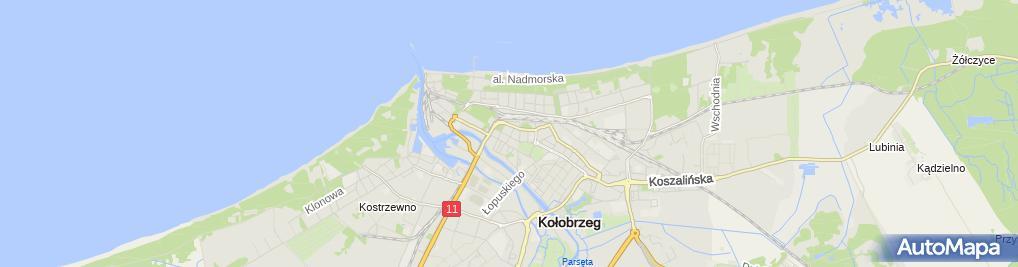 Zdjęcie satelitarne Przedsiębiorstwo Usługowo-Handlowe Europol mgr Paweł Pirzecki