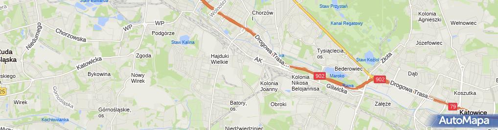 Zdjęcie satelitarne Przedsiębiorstwo Usługowo-Handlowe Mirosław Kincel