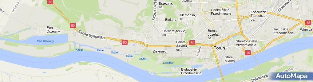 Zdjęcie satelitarne Przedsiębiorstwo Wielobranżowe Tkds Filipiak Adam Joński Jacek