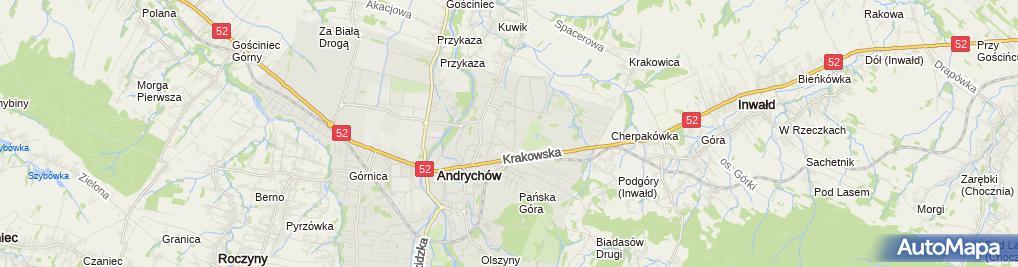 Zdjęcie satelitarne Przedsiębiorstwo Wielobranżowe TT Tadeusz Rusinek Tomasz Piotrowski