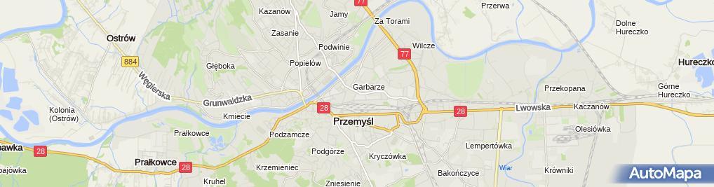 Zdjęcie satelitarne Przedsiębiorstwo Wodociągów i Kanalizacji Sp. z o.o.