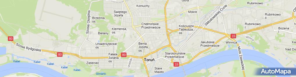 Zdjęcie satelitarne Przemysław Goleniewski