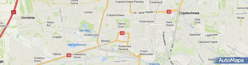 Zdjęcie satelitarne Przemysław Kasprzykiewicz - Działalność Gospodarcza