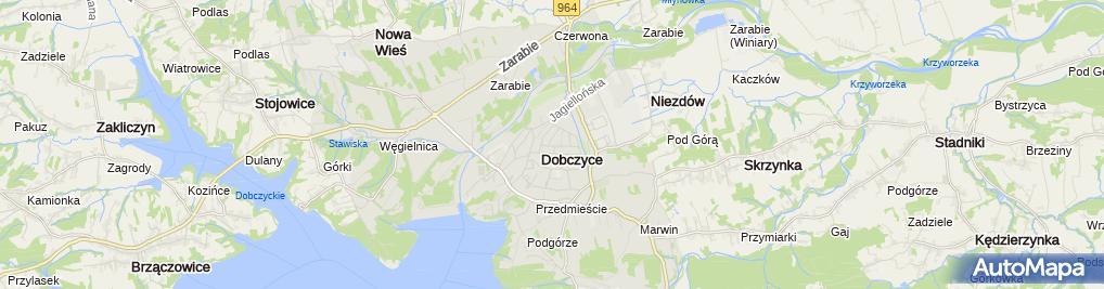 Zdjęcie satelitarne Przewóz Osób