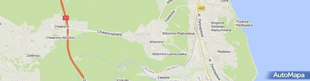 Zdjęcie satelitarne Punkt Opieki Nad Dzieckiem Tabaluga