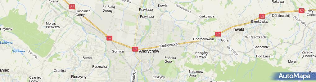 Zdjęcie satelitarne Pysz Studio Piotr Pysz