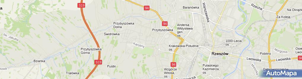 Zdjęcie satelitarne Pyziak Andrzej, Mechanika Pojazdowa Auto Holowanie Andrzej Pyziak
