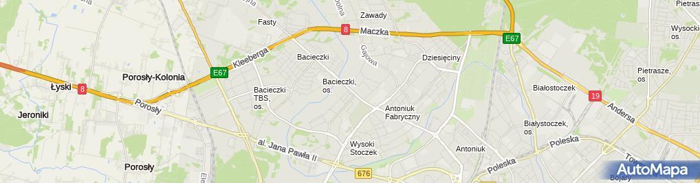 Zdjęcie satelitarne R & S Regina Stanisław Marcin Święcińscy