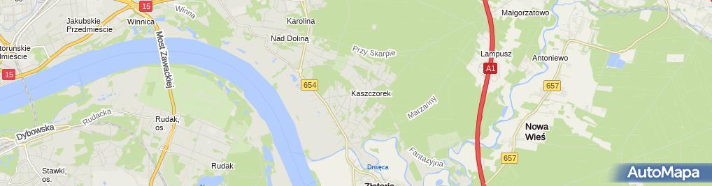 Zdjęcie satelitarne Rachuba Jarosław Stalbud