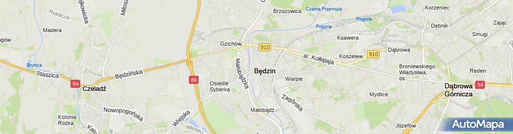 Zdjęcie satelitarne Radca Prawny Katarzyna Necel-Smółka