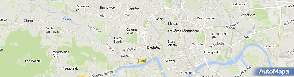 Zdjęcie satelitarne Radosław Urbanik Ecru