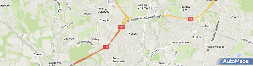 Zdjęcie satelitarne Rafał Niedzielski - Działalność Gospodarcza