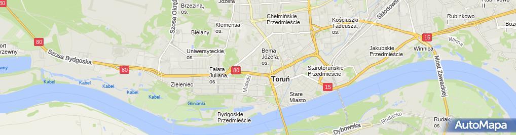 Zdjęcie satelitarne Rafał Płoski - Działalność Gospodarcza