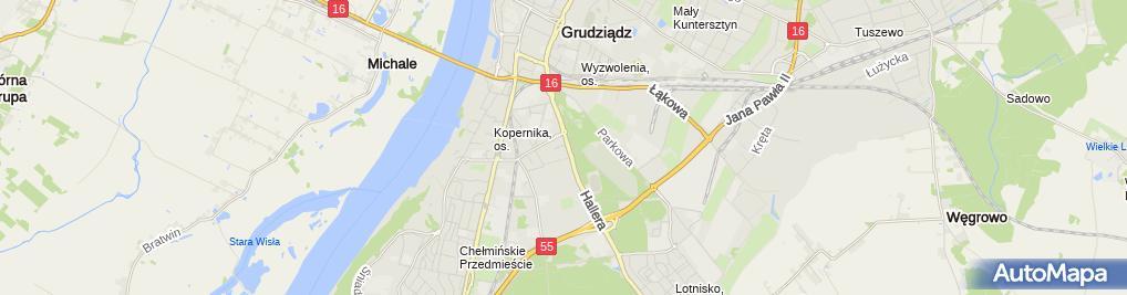 Zdjęcie satelitarne Ratownictwo Medyczne