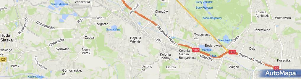 Zdjęcie satelitarne Remech