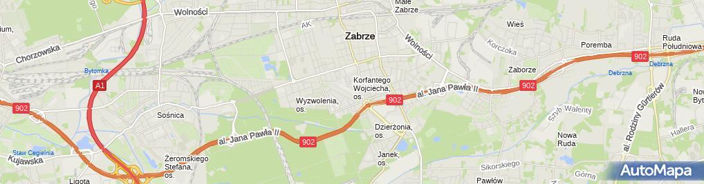 Zdjęcie satelitarne Ridera Polska
