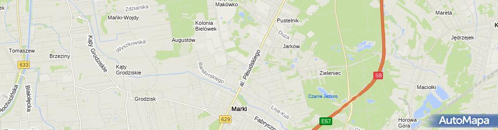 Zdjęcie satelitarne Rob-Service Robert Budzyna-Dawidowski
