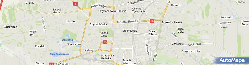 Zdjęcie satelitarne Robert Maślanka Przedsiebiorstwo Produkcyjno-Usługowo-Handlowe Eldespro /P.P.U.H.Eldespro