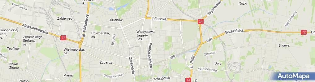 Zdjęcie satelitarne Robert Tomasz Piszczałkowski Agatex