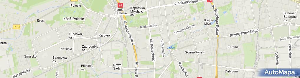 Zdjęcie satelitarne Robert Wysocki Wspólnik Spółek Cywilnych: Seven, Indeks