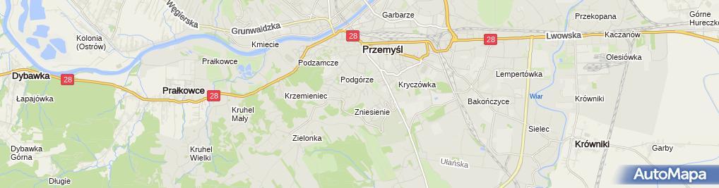 Zdjęcie satelitarne Roman Kaszelny Retermozanex